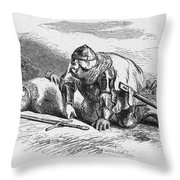 Shakespeare: Henry Iv Throw Pillow