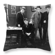 Silent Still: Punishment Throw Pillow