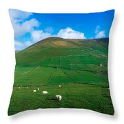 Slea Head, Dingle Peninsula, Co Kerry Throw Pillow