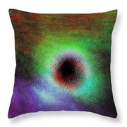Solar Sky Art Throw Pillow