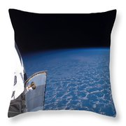 Space Shuttle Endeavour Throw Pillow