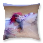 Tauromaquia Bull-fights In Spain Throw Pillow