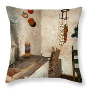 The Museum At The Monastery Throw Pillow