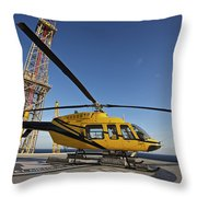 The Spacex Dragon Cargo Craft Throw Pillow