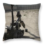 The Teodor Heavy-duty Bomb Disposal Throw Pillow