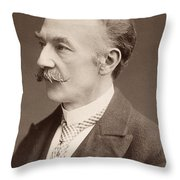 Thomas Hardy (1840-1928) Throw Pillow