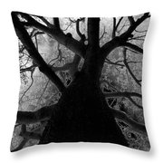 Tree Of Thorns Throw Pillow