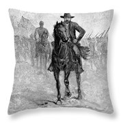 Ulysses S. Grant (1822-1885) Throw Pillow