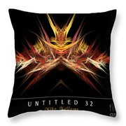Untitled 32 Throw Pillow