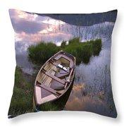 Upper Lake, Killarney National Park Throw Pillow