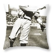 Walter Johnson (1887-1946) Throw Pillow