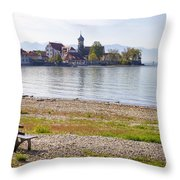 Wasserburg Throw Pillow by Joana Kruse