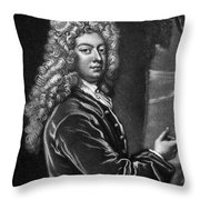William Congreve Throw Pillow