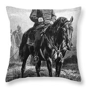 William I Of Prussia Throw Pillow