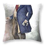 William Iv (1765-1837) Throw Pillow