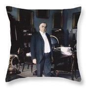 William Mckinley (1843-1901): Throw Pillow