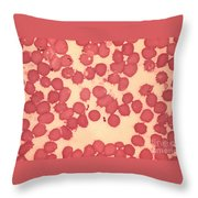 Yersinia Pestis Throw Pillow