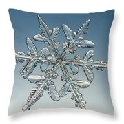 Snowflake Throw Pillow