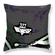 327 Throw Pillow