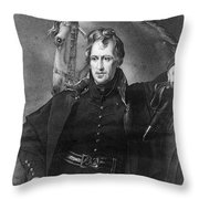 Andrew Jackson (1767-1845) Throw Pillow