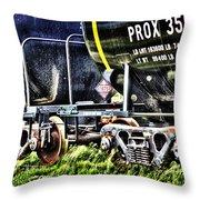 35530train Throw Pillow