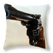 357 Mag Throw Pillow