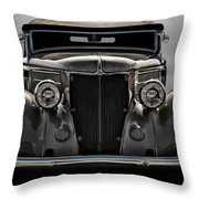 '36 Ford Convertible Coupe Throw Pillow