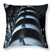 Lloyd's Building London  Throw Pillow
