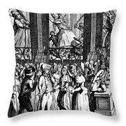 French Revolution, 1789 Throw Pillow