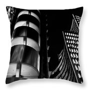 Lloyd's Building London  Throw Pillow