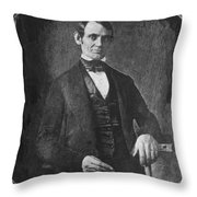 Abraham Lincoln Throw Pillow by Granger