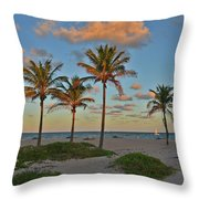 39- Evening In Paradise Throw Pillow