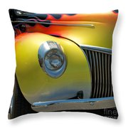 39 Ford Deluxe Hot Rod 3 Throw Pillow