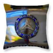 39 Mercedes-benz Logo Throw Pillow