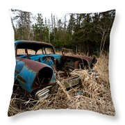 1956 Chevy Throw Pillow