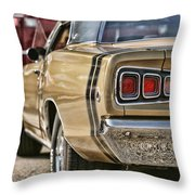 1968 Dodge Coronet Rt Throw Pillow