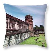 Angkor Wat Throw Pillow