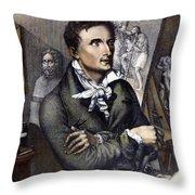 Antonio Canova (1757-1822) Throw Pillow by Granger
