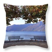 Ascona - Lake Maggiore Throw Pillow