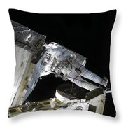 Astronaut Participates Throw Pillow