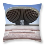 Baghdad, Iraq - A Great Dome Sits At 12 Throw Pillow