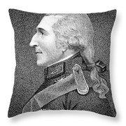 Benjamin Thompson Throw Pillow