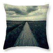 Boardwalk Throw Pillow by Joana Kruse