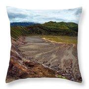 Bromo Crater Throw Pillow