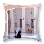 Cairo Opera Grounds Throw Pillow