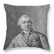 Charles De Vergennes Throw Pillow