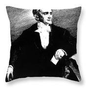 Charles Goodyear Throw Pillow