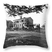 Civil War: Fredericksburg Throw Pillow