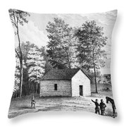Civil War: Shiloh, 1862 Throw Pillow