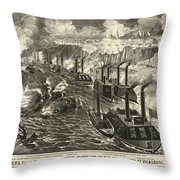 Civil War: Vicksburg, 1863 Throw Pillow